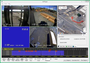 Commercial Forklift Lift Safety Operations Risk Management Surveillance Camera Forklift Recorder screenshot #8