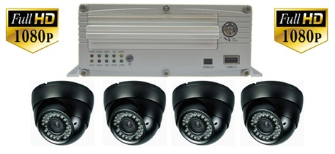 FHD4G High Definition school bus security surveillance camera system small copy