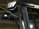 HD Forklift Mast Mount  from front view, video camera surveillance safety camera solution