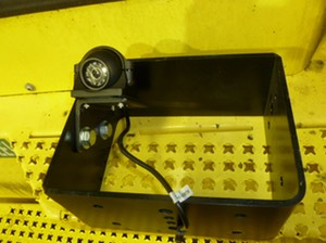 HD Forklift Mast Mount  detail video camera surveillance safety camera solution