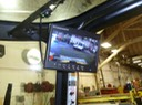 HD Forklift Roof Mounted LCD video camera digital DVR vehicle surveillance safety camera solution