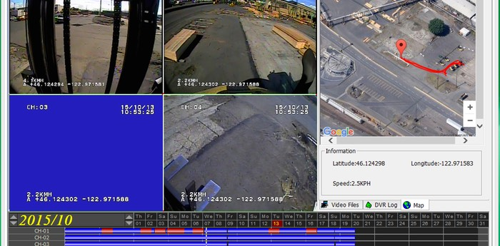 Heavy Duty Forklift Lift Operator Training and Boom Mast Counterweight & Fork Safety Camera screenshot # 89