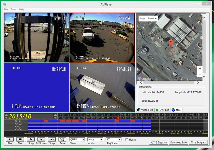 heavy duty forklift lift operator training and boom mast counterweight fork safety camera screenshot