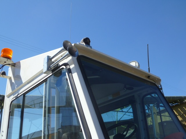 Heavy Duty Forklift Roof Mount video camera onboard DVR surveillance safety camera solution 2
