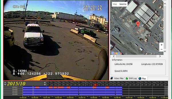 Heavy Duty Industrial Safety Operations Risk Management Surveillance Camera Forklift Recorder screenshot # 5