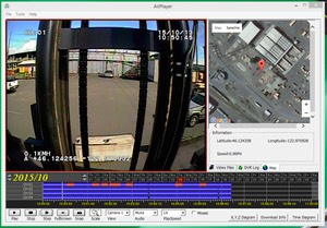 Heavy Duty Industrial Forklift Lift Operator Training and Safety onboard Camera GUI screenshot # 4