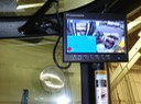 Heavy DutyForklift LCD Mount video camera surveillance safety camera solution