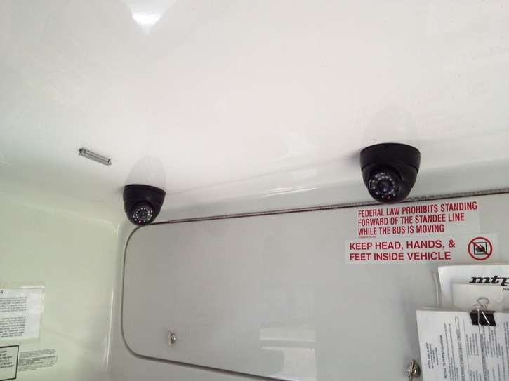 onboard video recorder surveillance camera system twin cameras 3