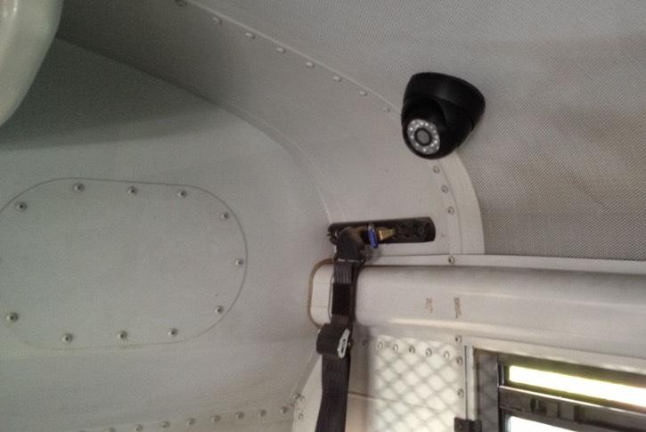 Prisoner Transport Camera Transportation Security Camera