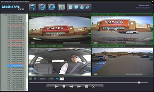SD4D & SD4W Vehicle Digital Expert Witness w/Quad view w/sherrif car School bus bully video surveillance expert witness video observation video evidence cameras for school buses