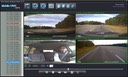 SD4D & SD4W Vehicle driver camera test Cam1-PD Forward View, Cam2-ExCAM Forward View, Cam3-PD Driver, Cam4 ExCAM Rear 6 mobile video security surveillance onboard driver safety camera system copy