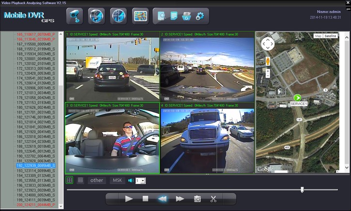 SD4D & SD4W Vehicle driver camera used to reduce fleet driver risk with Dangerous Driving Behaviors mobile video event recorder surveillance Camera Test Cam1 12mm PD, Cam 2 ExCAM, Cam3 ExCAm Cam4 PD cam