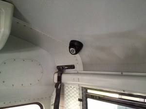 Juvenile Detention Bus Security Camera transportation security camera system wheelchair lift camera