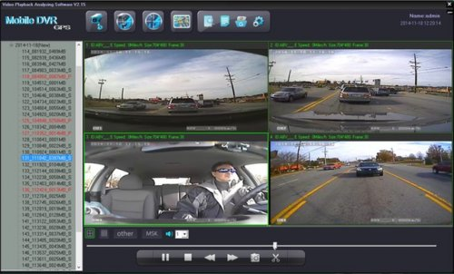 SD4D & SD4W Onboard vehicle driver mobile video event recorder camera surveillance Test Cam1 12mm PD, Cam 2 ExCAM, Cam3 ExCAm Cam4 PD cam 1 mobile video security surveillance system
