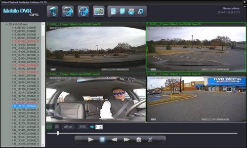 SD4D & SD4W Onboard vehicle driver mobile video event recorder camera surveillance